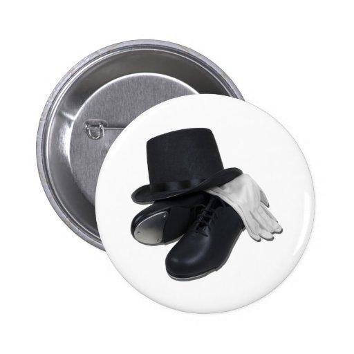 TopHatTapShoesGloves012511 Pin Redondo 5 Cm