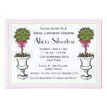 """Topiary Bridal Shower Invitation 5"""" X 7"""" Invitation Card"""