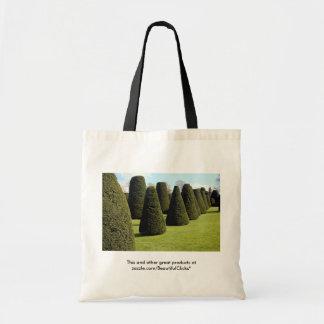 Topiary, casa de Packwood, Warwickshire, Inglaterr Bolsas Lienzo