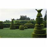 Topiary Garden, Longwood Gardens, Pennsylvania Photo Cutouts