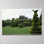 Topiary Garden, Longwood Gardens, Pennsylvania Posters
