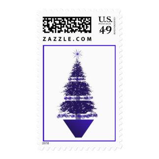 Topiary Holiday Tree 2014 Christmas Stamps USPS