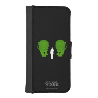 Topiary Lions iPhone 5 Wallets