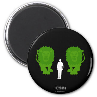 Topiary Lions Magnet