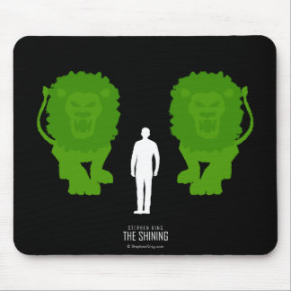 Topiary Lions Mouse Pad