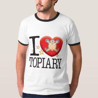 Topiary Love Man T-Shirt
