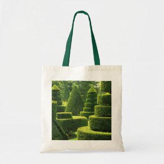 Topiary verde - tote del presupuesto bolsa de mano