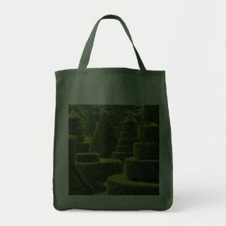 Topiary verde - tote del ultramarinos bolsas de mano