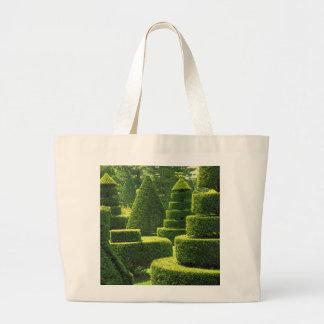 Topiary verde - tote enorme bolsas de mano