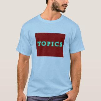Topics & Indiana Tornado T-Shirt