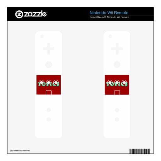 TOPICS WII REMOTE DECAL