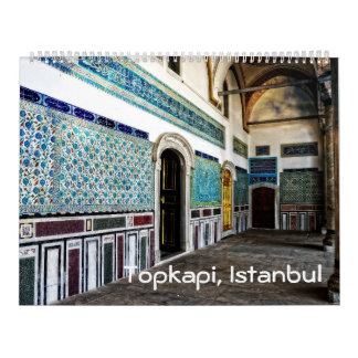 Topkapi palace Photo Calendar