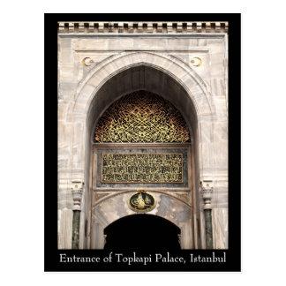 Topkapi Palace Postcard