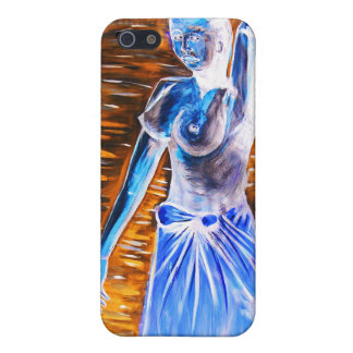 Topless African Woman Carrying Basket, Surreal Cover For iPhone SE/5/5s