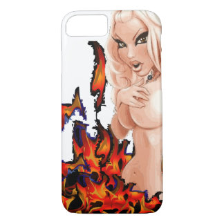 topless girl iPhone 7 case