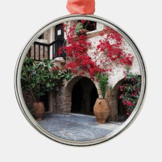 Toplou Monastery Church courtyard CRETE GREECE Metal Ornament