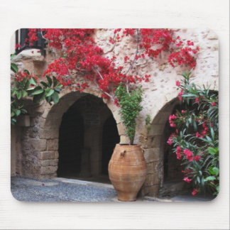 Toplou Monastery Church courtyard CRETE GREECE Mousepads