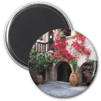 Toplou Monastery Churches courtyard CRETE GREECE Magnet