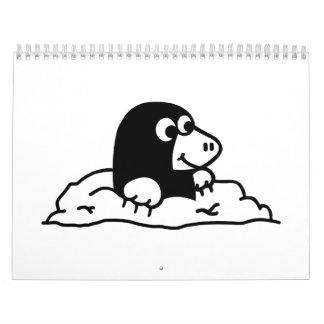 Topo cómico calendarios