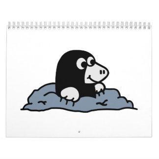 Topo lindo calendario