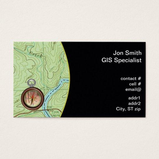 Topo map business card zazzle topo map business card colourmoves
