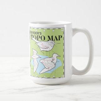 Topo Map mug
