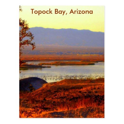 Topock Bay, Arizona Post Cards