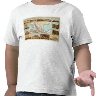 Topografía de México Camisetas