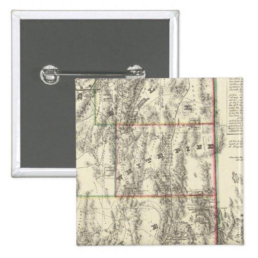 Topografía de Nevada meridional Pins
