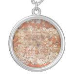 Topografía del siglo XV de Palestina de la Tierra  Joyería