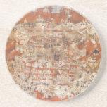 Topografía del siglo XV de Palestina de la Tierra  Posavaso Para Bebida