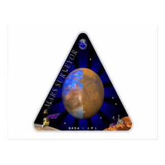 Topógrafo '98 de Marte Postales