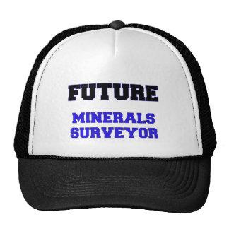 Topógrafo futuro de los minerales gorras