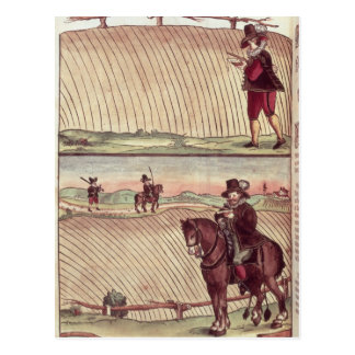 Topógrafos, c.1590 postales