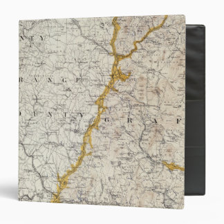 Topographic and Glacial Map of New Hampshire 2 Binder