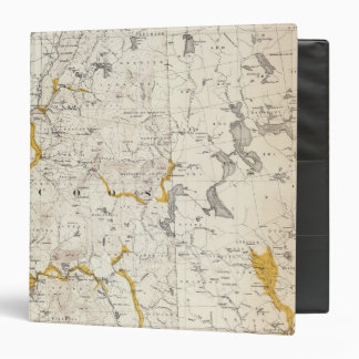 Topographic and Glacial Map of New Hampshire 3 Binder