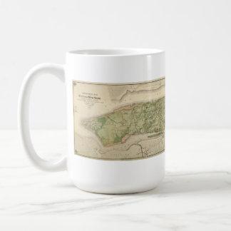 Topographic Atlas of the City of New York, 1874 Coffee Mug