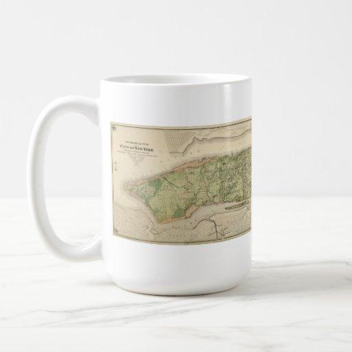 Topographic Atlas of the City of New York, 1874 Mugs