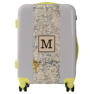 Topographic & Glacial New Hampshire | Monogram Luggage