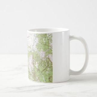 Topographic Map Coffee Mug