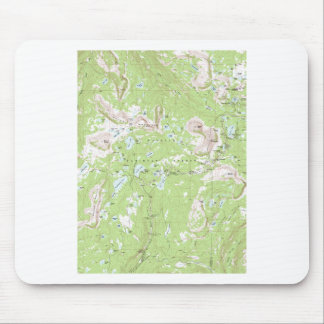Topographic Map Mouse Pad