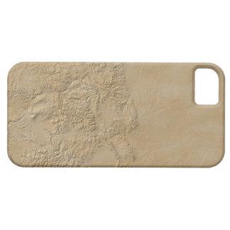 Topographic Map of Colorado 2 iPhone SE/5/5s Case