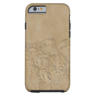 Topographic Map of Colorado 2 Tough iPhone 6 Case