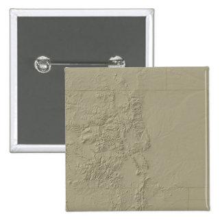 Topographic Map of Colorado Button