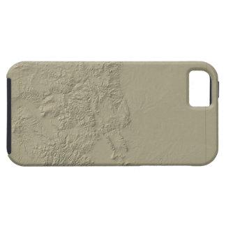 Topographic Map of Colorado iPhone SE/5/5s Case