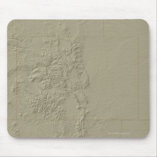 Topographic Map of Colorado Mouse Pad
