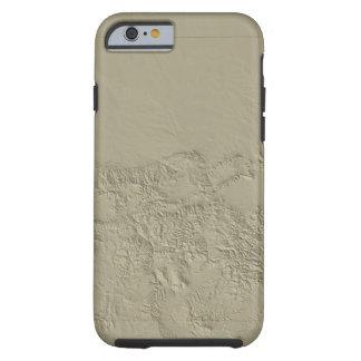 Topographic Map of Colorado Tough iPhone 6 Case