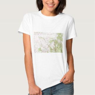 Topographic Map Tee Shirt