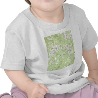 Topographic Map T-shirts