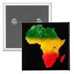 Topographic Tricolor Africa pin